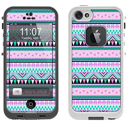 Skin Decal for LifeProof iPhone 5 Case - Aztec Andes Mauve and Teal Pattern Design TrekSkins http://www.amazon.com/dp/B00L9JVXWA/ref=cm_sw_r_pi_dp_aQEkub1R6BYNX