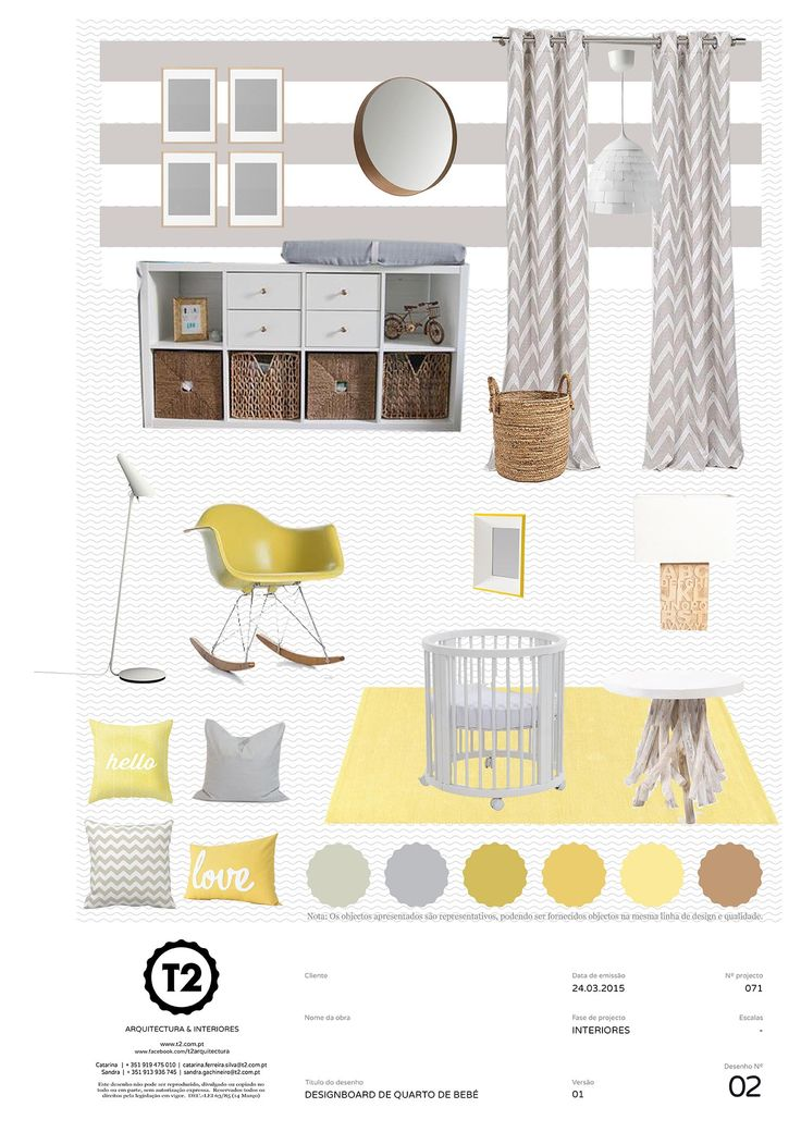 Nursery, apartment in Lisboa, Portugal (project #071). By T2 Arquitectura & Interiores
