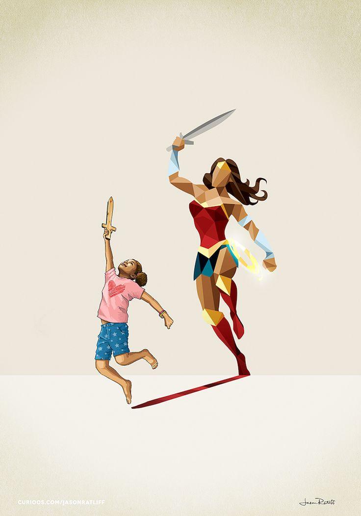 de-nouveaux-dessins-d-enfants-avec-des-ombres-super-hero-par-jason-ratliff-2-wonder-woman