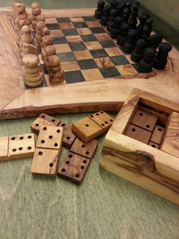 Chess Board Set & Domino