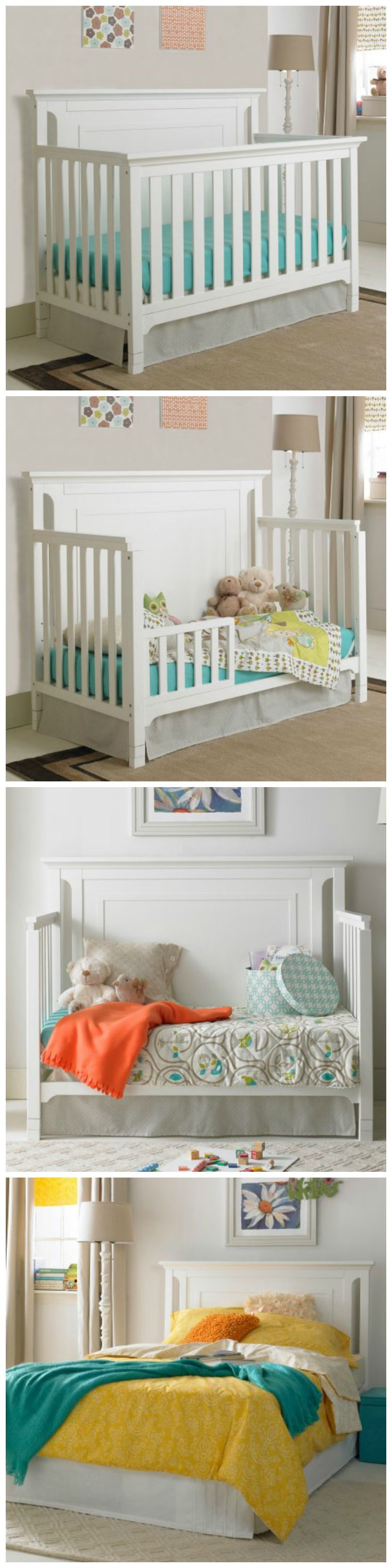 4 in 1 convertible crib.