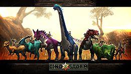 Dino Storm Wallpaper 1 (DinoStorm.com) Play now for free!