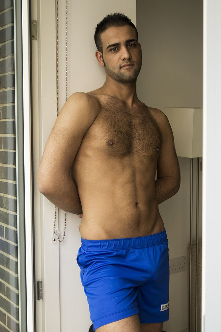 Abdel wearing blue Club Soho shorts http://www.clubsoho.co.uk/#!product/prd1/3676246401/blue-shorts