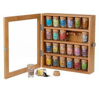 Artisanal Bamboo Salt Chest http://www.menshealth.com/guy-wisdom/luxury-gifts-for-her/artisanal-bamboo-salt-chest