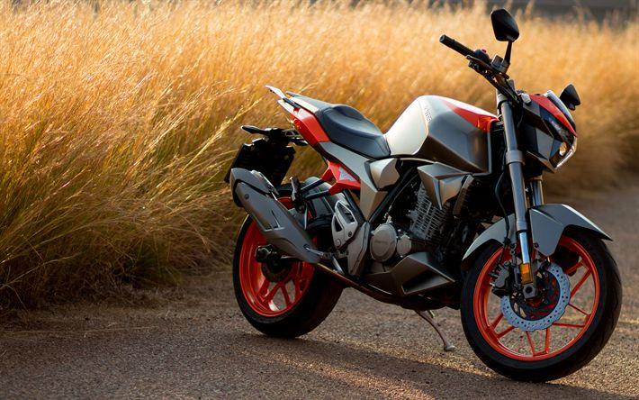 Descargar fondos de pantalla Zontes S250, 4k, 2017 bicicletas, motos deportivas, superbikes, Zontes