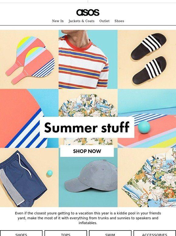 Summer Stuff - ASOS Email Newsletter Design
