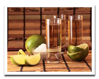 Tequila Shots w/Salt and Lime (Image only)