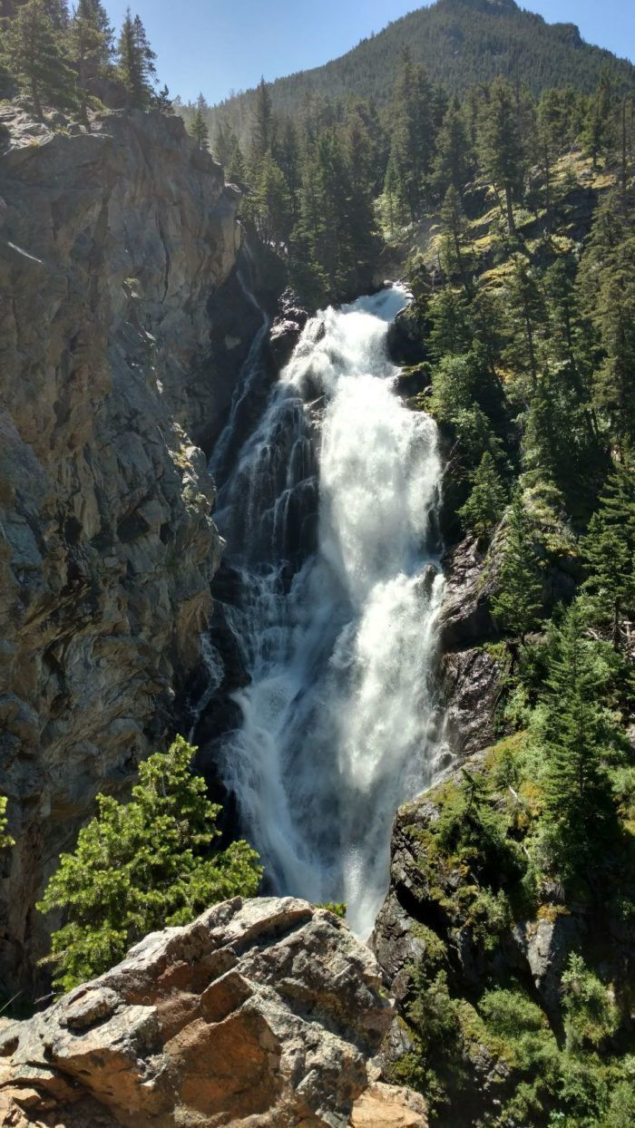 this waterfall campground in montana is unforgettable rh pinterest com mx