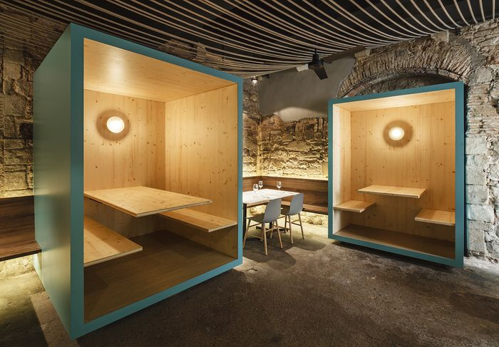 Tapas Bona Sort byJordi Ginabreda Studio #interiordesign #design #restaurant