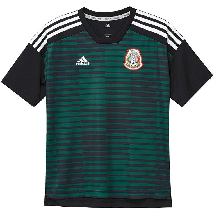 Mexico National Team adidas Youth Pre-Match Training Jersey ...