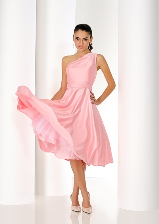 Trudy Lee Bridesmaids Dress In Gorgeous Prom Style Blush Pink WeddingsPastel WeddingsWedding Color