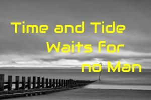 "Short essay on Time and Tide Waits for no Man for children. We are well aware about the famous phrase ""time doesn't stop for anyone"""