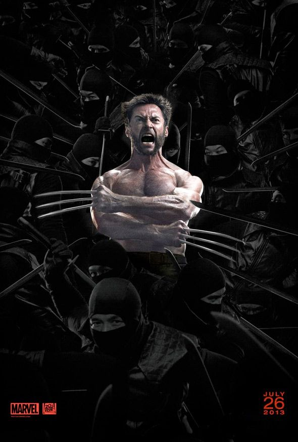 """the wolverine"" poster"