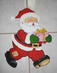 Resultado de imagen para pintura em tecido natal papai noel