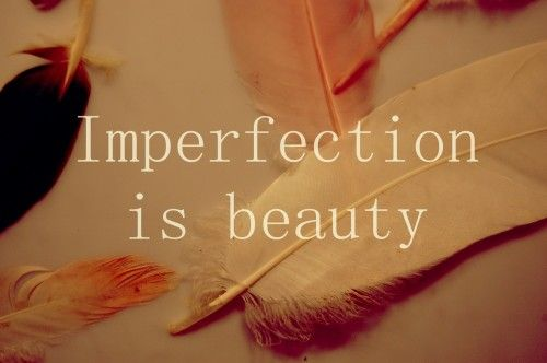 I struggle with this so much I got a version of this saying tattooed on me to remind me I'm beautiful no matter what :)