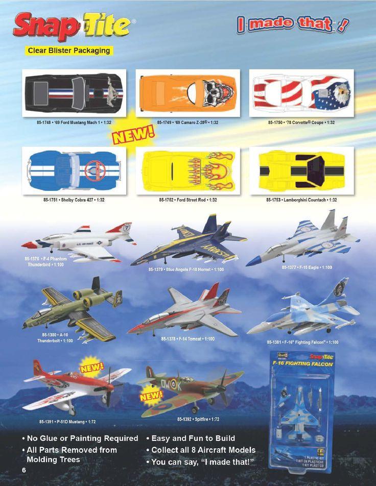 Page 6 - Revell Monogram Catalog 2012 - Plastic Kits - Model Kits - Scale Modeling
