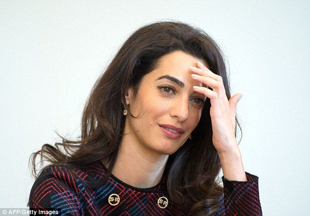 Mrs Clooney demands that ISIS are prosecuted by the ICC for crimes against humanity agains...