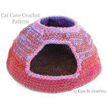 Cat Cave Crochet Pattern