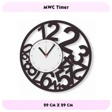 Dapatkan berbagai macam Modern wall clock di situs ini http://deco4room.com/