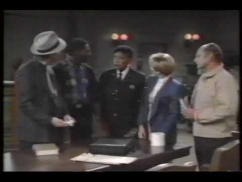 Mr Sylvest in the 1st 15seconds of this episode of Night Court - Attack of the Mac Snacks