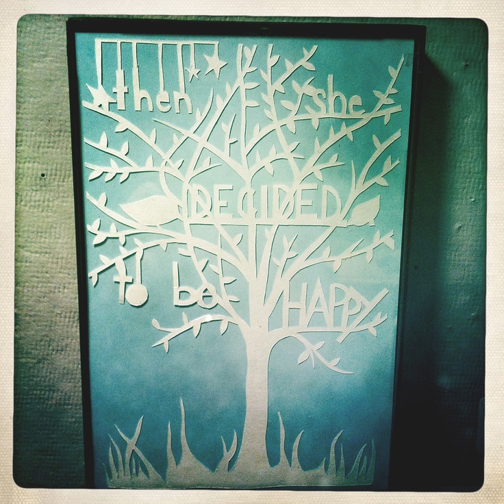 Paper Cutting in the style of Robert Ryan - Would love for this to be in my room!