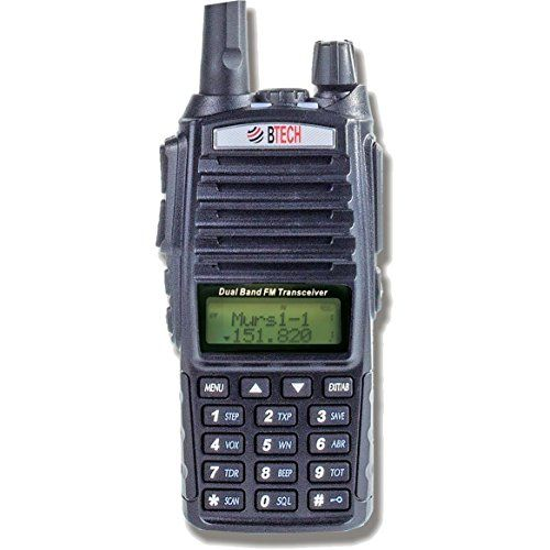 BTECH MURS-V1 MURS Two-Way Radio, License Free Two-Way Radio for Manufacturing, Retail, Personal, and Business. For product & price info go to:  https://all4hiking.com/products/btech-murs-v1-murs-two-way-radio-license-free-two-way-radio-for-manufacturing-retail-personal-and-business/