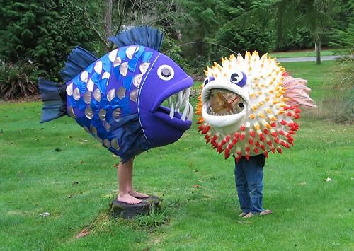 17 best images about sea creature on pinterest mermaid for Kids fish costume