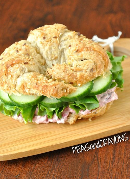 Cranberry Croissant Sandwich and Spread