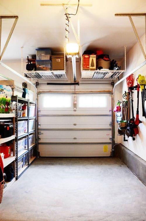 100 idées de rangements pour le garage pour gagner de la place. Des astuces faciles et solutions ...