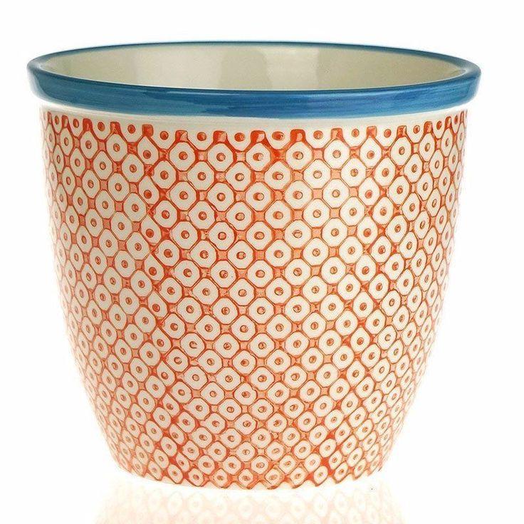 Ceramic Plant Pot Garden Pottery Plant Pots Balcony Flower Herb Indoor Container #CeramicPlantPot