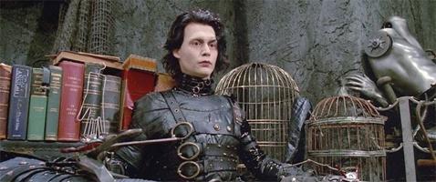 Johnny Depp riprende il ruolo di Edward mani di forbice... ne I Griffin
