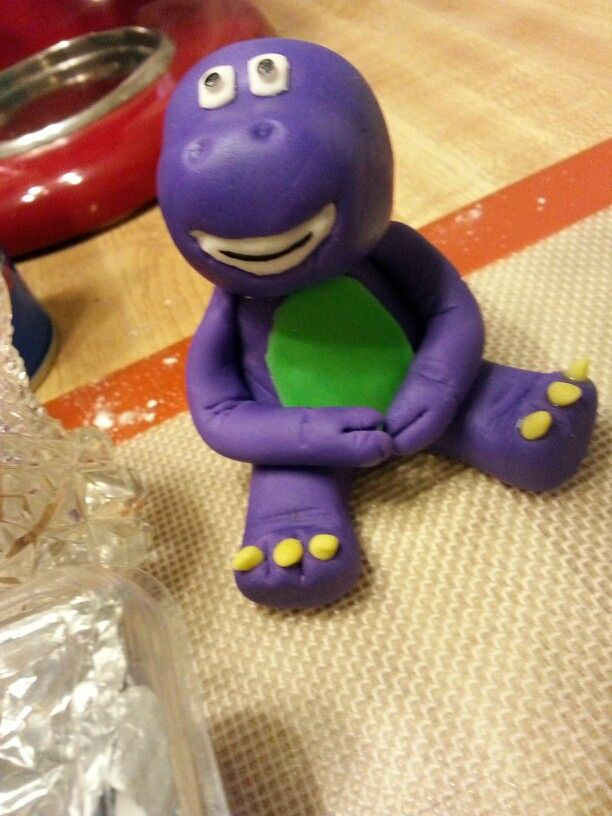 Barney Cake Toppers For Sale