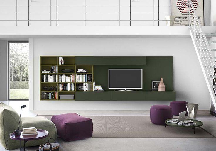Mobili Tv Componibili : Spazioteca visto mobili tv libreria ...