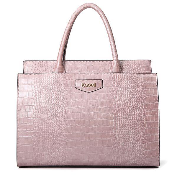 effa16ca5384 Kadell Metal Crocodile Large Capacity Pattern Handbag Crossbody Bag For  Women