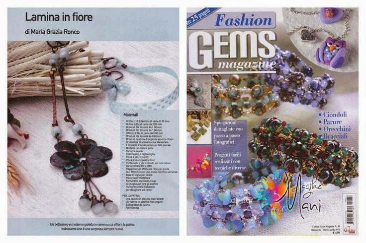 My necklace published on Fashion Gems #38