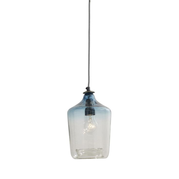 Discover the Nordal Bubble Glass Lamp - Blue at Amara£65