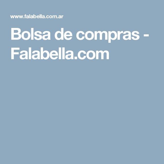 Bolsa de compras - Falabella.com