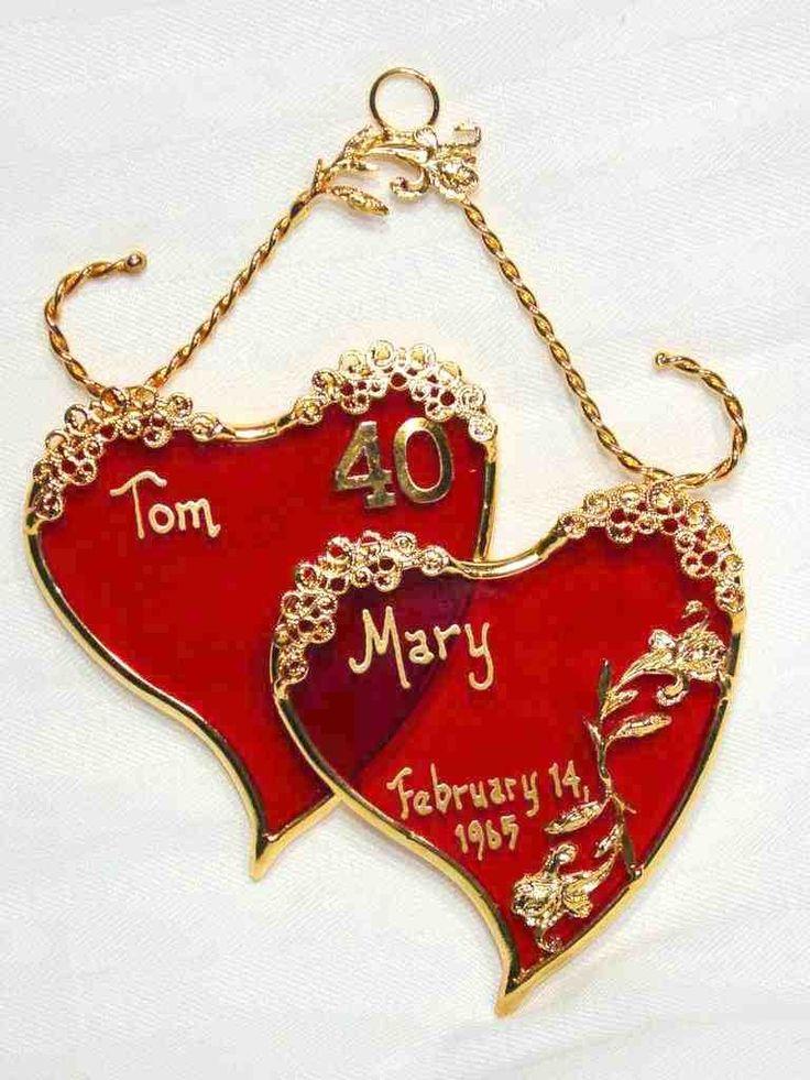40th wedding anniversary traditional gift anniversary