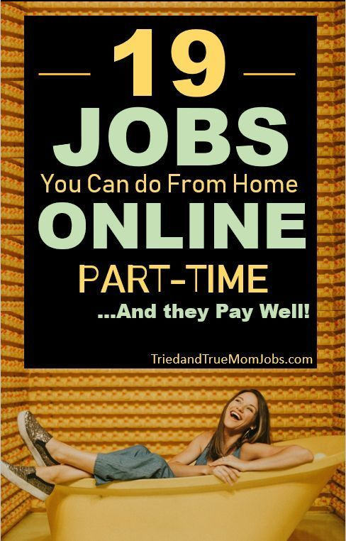 19 Best Part-Time Online Jobs in 2019 that Pay Well – I Earn $5,000/mo w/ #1 Whe… – Designer.ca