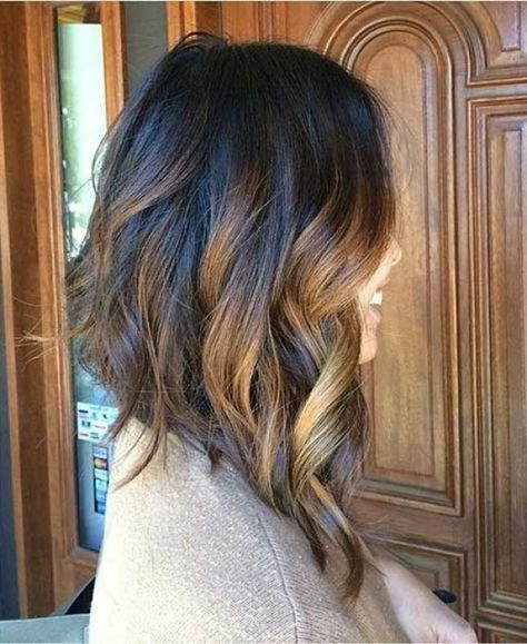 Image result for Inverted Bob Long in Front Short Back | Angled bob hairstyles, Choppy bob ...