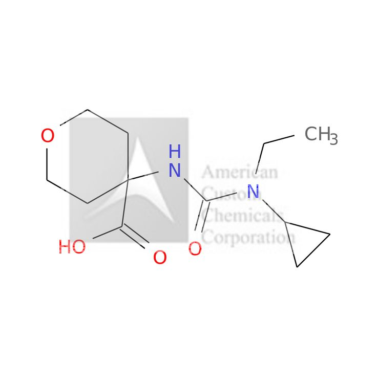 4-([CYCLOPROPYL(ETHYL)CARBAMOYL]AMINO)OXANE-4-CARBOXYLIC ACID is now  available at ACC Corporation