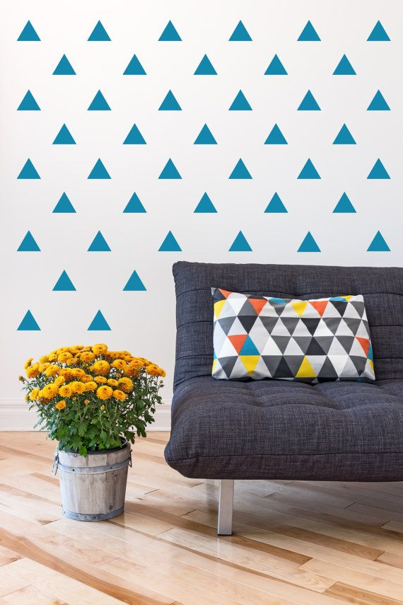 Vinyl wall sticker decal art 4 triangle