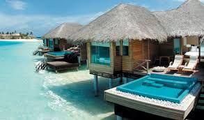 Huvafen Fushi en Islas Maldivas, Ocèano Indico.