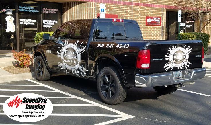 Vehicle wraps decals by speedpro imaging nw raleigh durham chapel hill raleigh