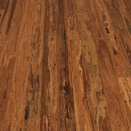 Wood Flooring - Organic Husk features a veneer that is 80% recycled Coconut  Palm and 20% MOSO Bamboo. Both products are crushed, stranded together, ...