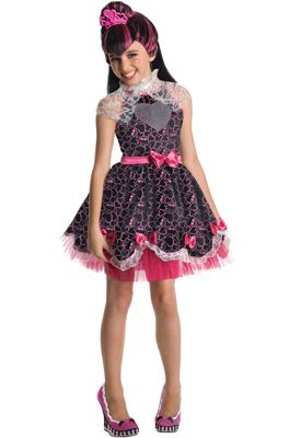 Monster High Deluxe Draculaura Sweet 1600 Child Costume #Halloween #costumes #monsterhigh
