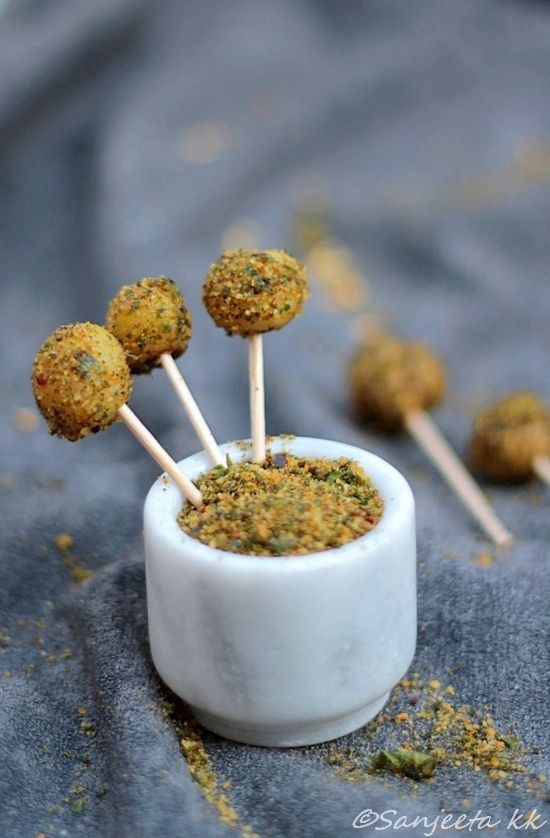 Baby Potato Pops! Quick, easy and healthy starters.