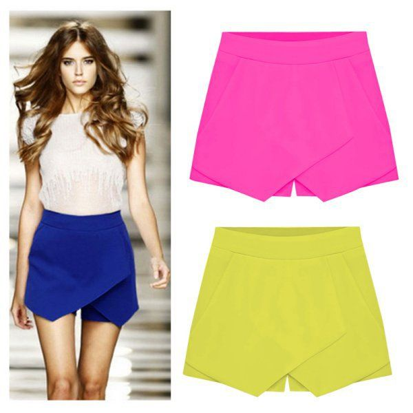 Cheap shorts design, Buy Quality shorts swimsuit directly from China pants medium Suppliers: Item: Women's  Pants SkirtCondition: Brand New with TagMaterial: 80% Cotton, 20% OtherColor:  Blue, White, Pin
