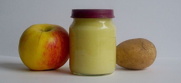Babybrei - Apfel-Kartoffelbrei