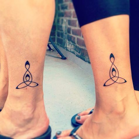 mother daughter symbol mother daughters mothers mom daughter tattoos ... #HotTattoos